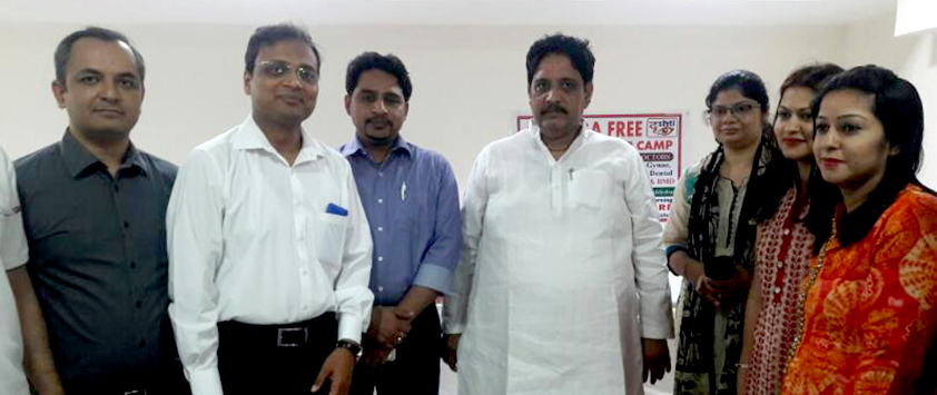 Multispecialty Camp on 9th April inaugurated by MLA Mr. Sunil Sharma